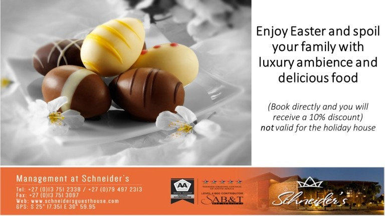 Enjoy Easter and spoil your family with luxury